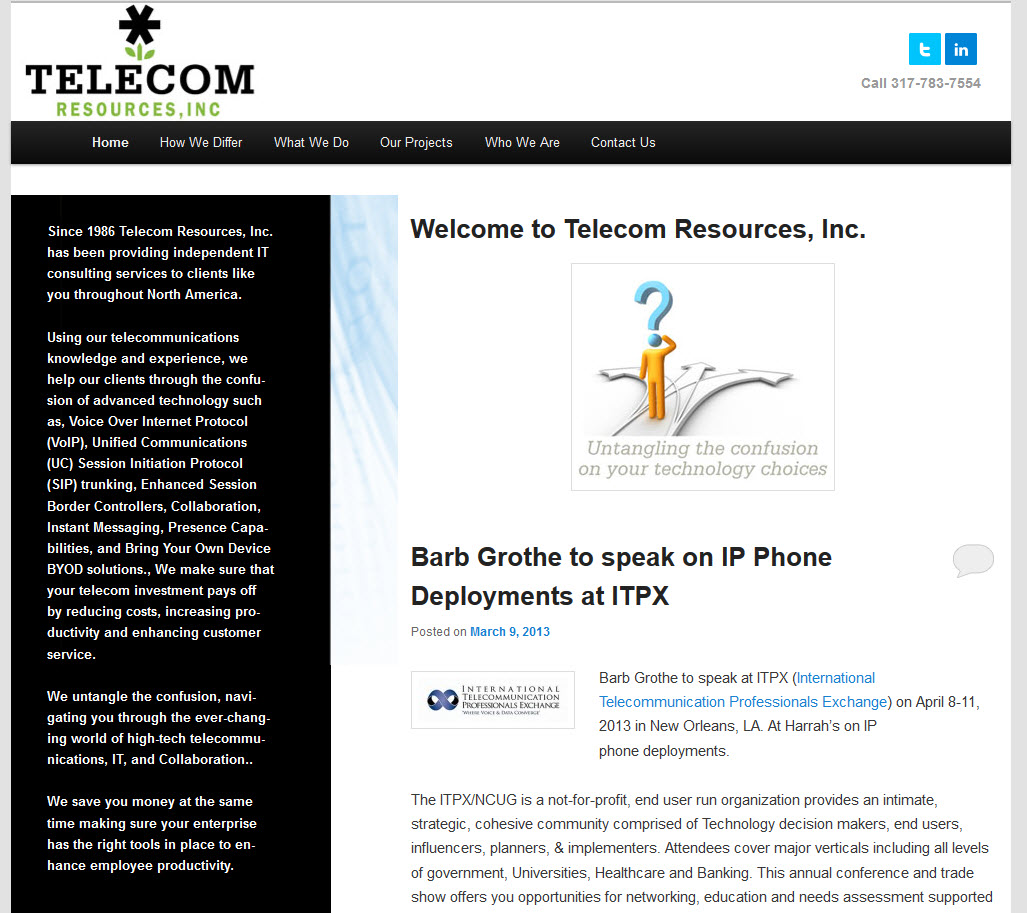 Telecom Resources, Inc.