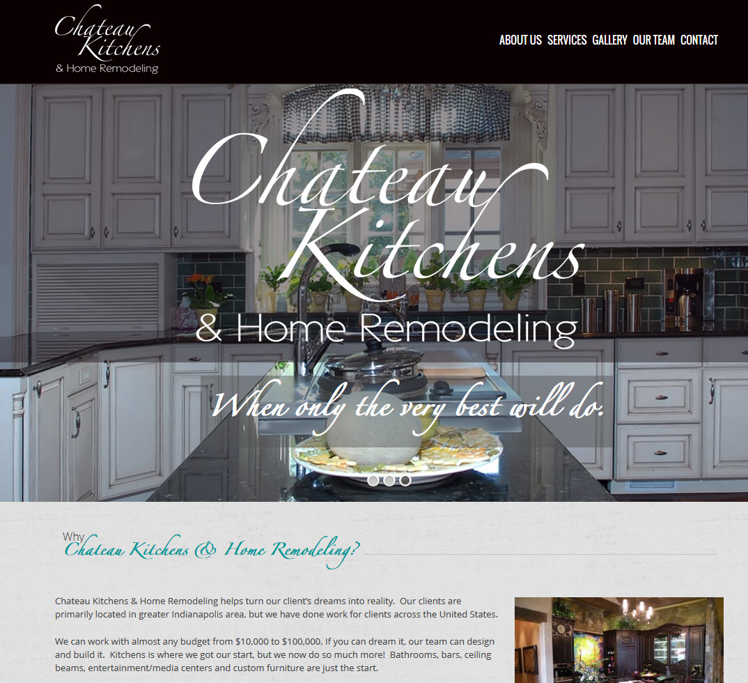 Chateau Kitchens & Home Remodeling